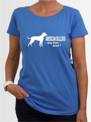 """American Bulldog 7"" Damen T-Shirt"