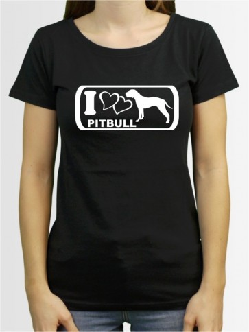 """American Pitbull 6"" Damen T-Shirt"