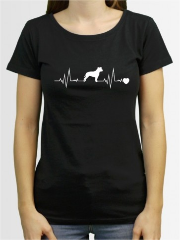 """American Staffordshire 41"" Damen T-Shirt"