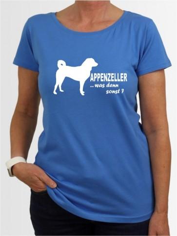 """""""Appenzeller Sennenhund 7"""" Damen T-Shirt"""