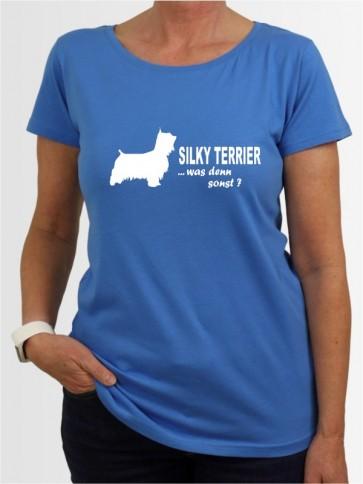 """""""Australian Silky Terrier 7"""" Damen T-Shirt"""
