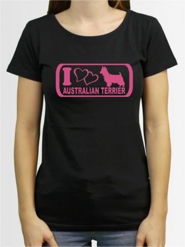 """""""Australian Terrier 6"""" Damen T-Shirt"""