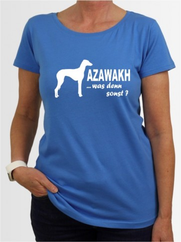 """""""Azawakh 7"""" Damen T-Shirt"""