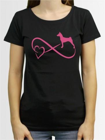 """""""Basenji 40"""" Damen T-Shirt"""