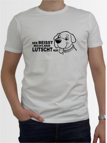 """""""Beisst nicht lutscht"""" Herren T-Shirt"""