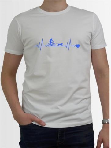 """Bikejöring 41"" Herren T-Shirt"