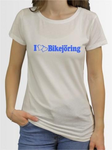 """""""Bikejöring 6"""" Damen T-Shirt"""