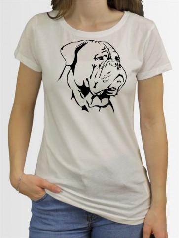"""Bordeauxdogge"" Damen T-Shirt"