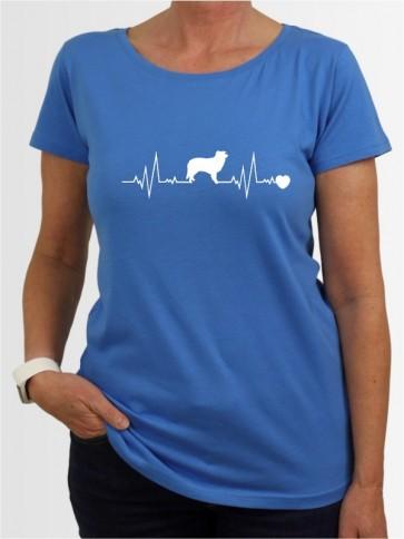 """""""Border Collie 41"""" Damen T-Shirt"""