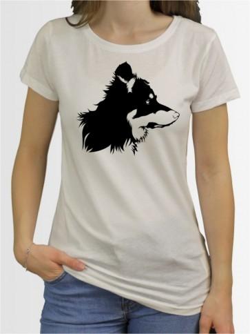 """Border Collie c"" Damen T-Shirt"