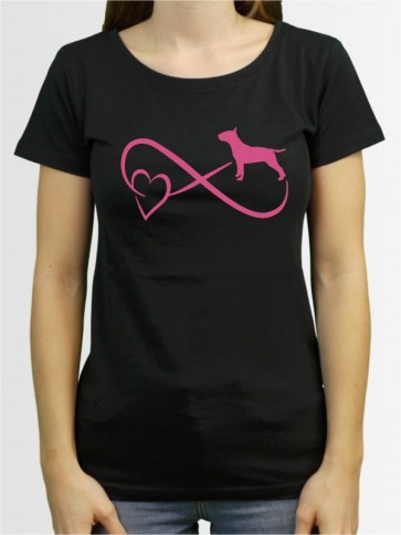 """""""Bullterrier 40"""" Damen T-Shirt"""