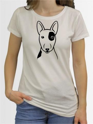 """""""Bullterrier Comic"""" Damen T-Shirt"""