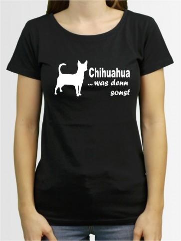 """""""Chihuahua Kurzhaar 7"""" Damen T-Shirt"""