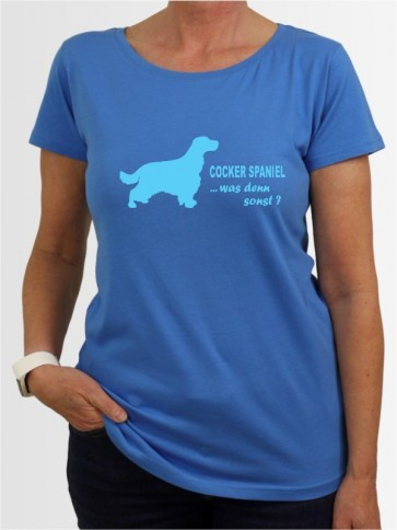 """Cocker Spaniel 7"" Damen T-Shirt"