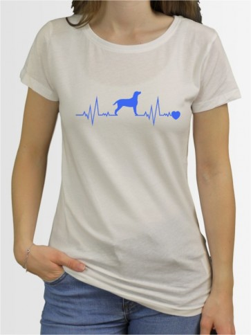 """Curly Coated Retriever 41"" Damen T-Shirt"