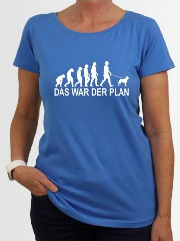 """""""Das war der Plan 1"""" Damen T-Shirt"""