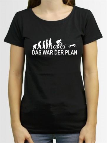 """""""Das war der Plan 2"""" Damen T-Shirt"""