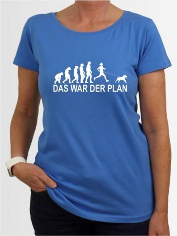 """""""Das war der Plan 3"""" Damen T-Shirt"""