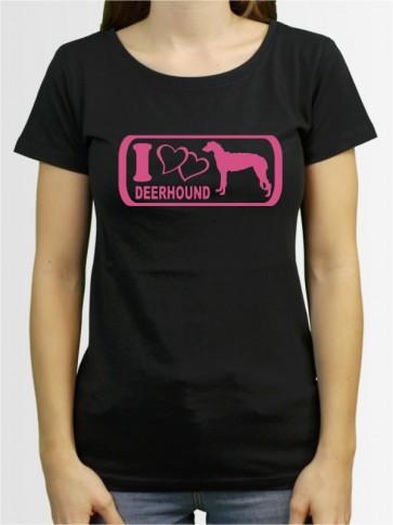 """""""Deerhound 6"""" Damen T-Shirt"""