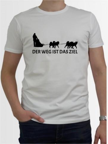 """""""Der Weg ist das Ziel 2"""" Herren T-Shirt"""