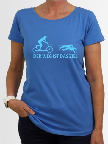 """Der Weg ist das Ziel 3"" Damen T-Shirt"