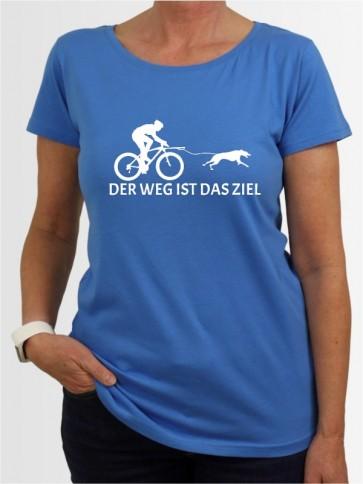 """Der Weg ist das Ziel 6"" Damen T-Shirt"