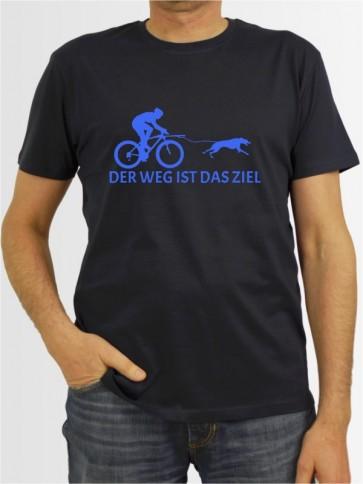 """""""Der Weg ist das Ziel 6"""" Herren T-Shirt"""