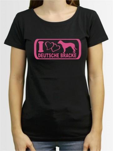"""""""Deutsche Bracke 6"""" Damen T-Shirt"""