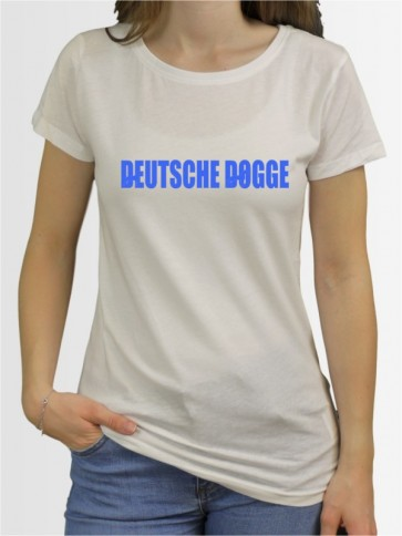 """Deutsche Dogge 46"" Damen T-Shirt"