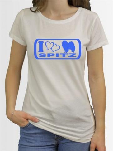 """""""Deutsche Spitz 6"""" Damen T-Shirt"""