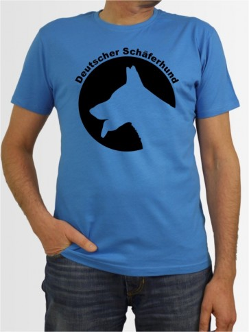 Herren-Shirt mit Deutscher Schäferhund Hunde-Motiv von AchDuDickerHund