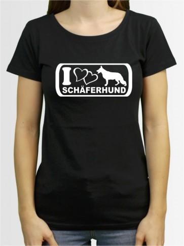 """""""Deutscher Schäferhund 6"""" Damen T-Shirt"""