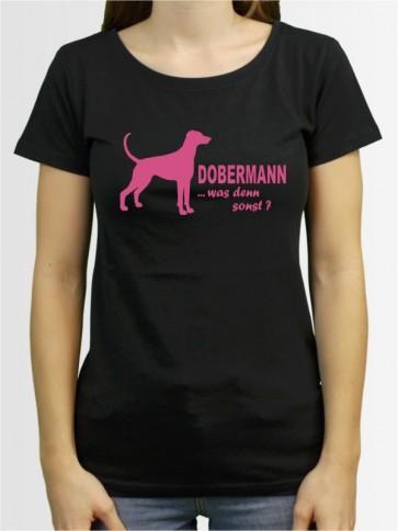 """""""Dobermann 7"""" Damen T-Shirt"""