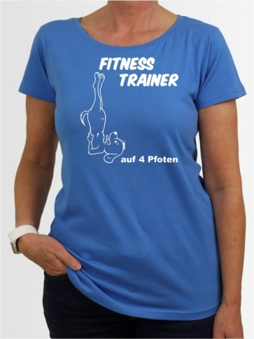 """Fitness Trainer"" Damen T-Shirt"