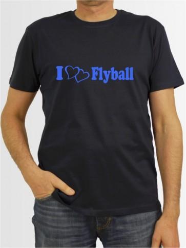 """""""Flyball 1"""" Herren T-Shirt"""