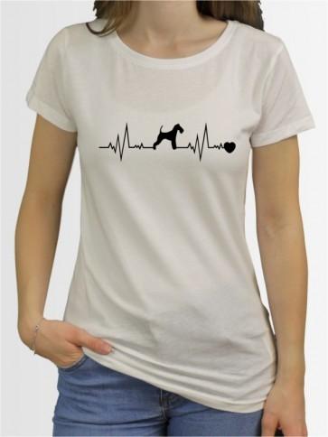 """""""Fox Terrier Drahthaar 41"""" Damen T-Shirt"""