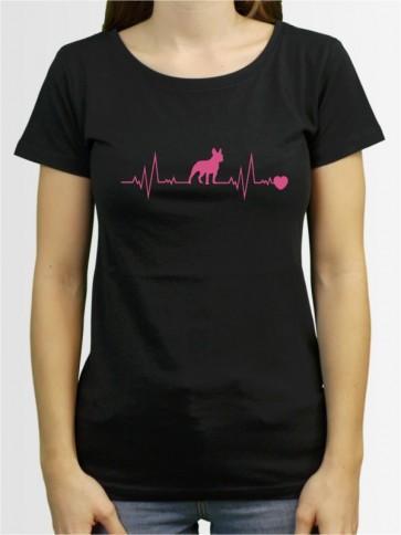"""Französische Bulldogge 41"" Damen T-Shirt"