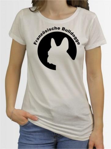 """Französische Bulldogge 44"" Damen T-Shirt"