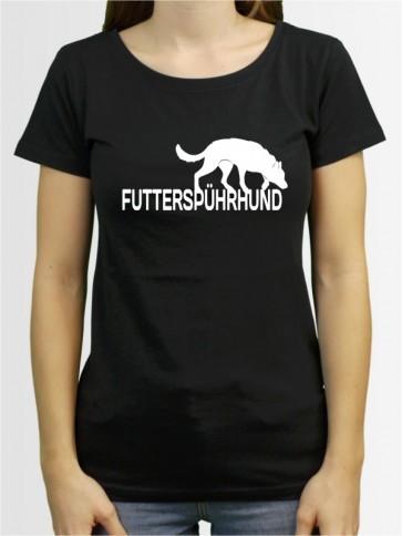 """Futterspührhunda"" Damen T-Shirt"