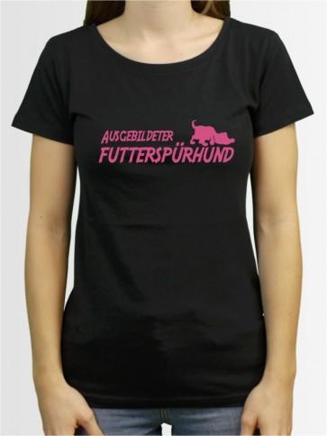 """""""Futterspürhund"""" Damen T-Shirt"""