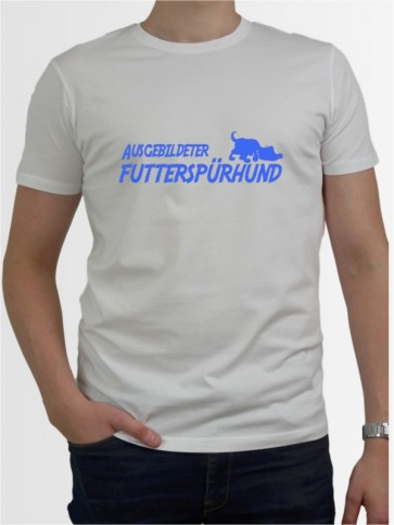 """""""Futterspürhund"""" Herren T-Shirt"""