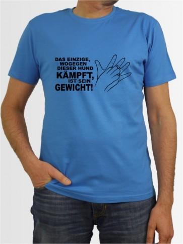 """""""Gewicht Listenhund"""" Herren T-Shirt"""