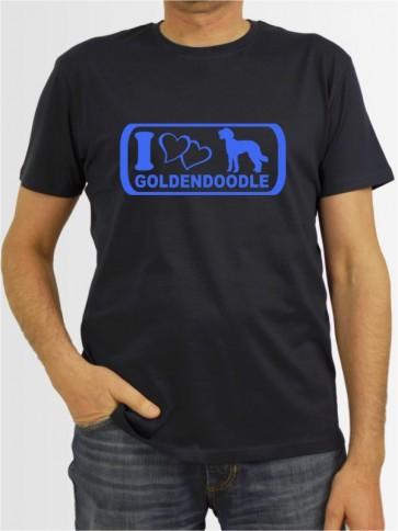 """""""Goldendoodle 6"""" Herren T-Shirt"""