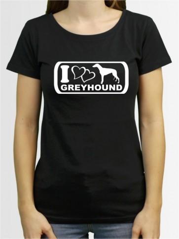 """Greyhound 6"" Damen T-Shirt"
