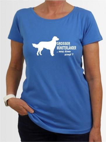 """""""Großer Münsterländer 7"""" Damen T-Shirt"""