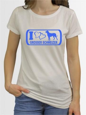 """""""Großer Schweizer Sennenhund 6"""" Damen T-Shirt"""