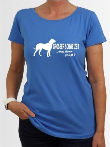 """""""Großer Schweizer Sennenhund 7"""" Damen T-Shirt"""