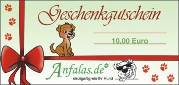 Geschenk Gutschein Anfalas.de