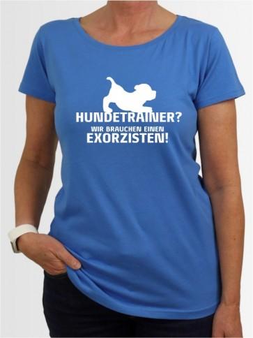 """""""Hundetrainer"""" Damen T-Shirt"""