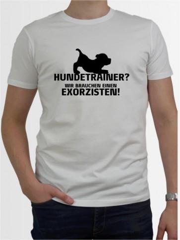 """""""Hundetrainer"""" Herren T-Shirt"""